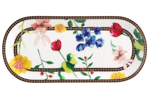 Тарелка сервировочная (белый) Contessa в подарочной упаковке