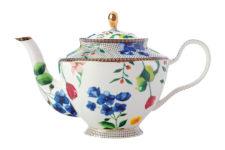 Чайник с ситечком (белый) Contessa в подарочной упаковке