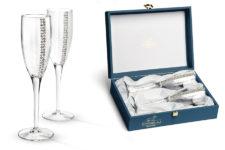 Набор бокалов для шампанского Регина Сваровски