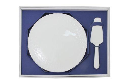 Набор для торта: блюдо  + лопатка Шёлк Наруми
