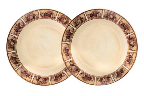 Набор из 2-х десертных тарелок Натюрморт