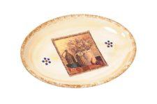 Овальное блюдо Натюрморт