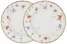Набор из 2-х обеденных тарелок Флёр