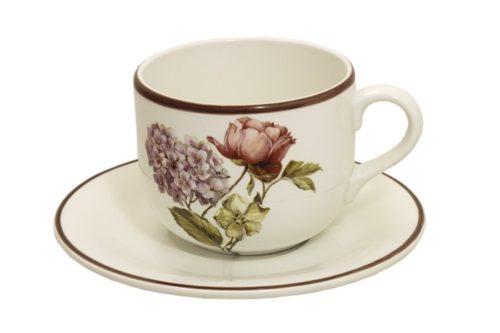Чашка 0,5 л с блюдцем Сады Флоренции