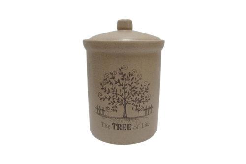 Банка для сыпучих продуктов маленькая Дерево жизни