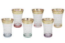 Набор: 6 стаканов для воды Цветная Флоренция