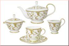 Чайный сервиз Наруми Анатолия 15 предметов на 6 персон