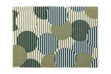 Сервировочные маты 45 х 32 см, Green Polka Dots Day Drap 2 шт