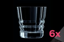 Набор низких стаканов 380мл (6шт) ARCHITECTE Cristal d'Arques