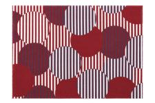 Сервировочные маты 45 х 32 см, Red Polka Dots Day Drap 2 шт