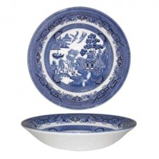 Тарелка суповая Churchill 20 см Голубая ива