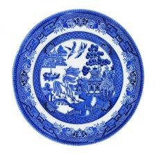 Тарелка десертная Churchill 20 см Голубая ива