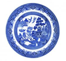 Блюдце Churchill 14 см Голубая ива