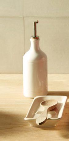 Бутылка для масла и уксуса 7,5 см (цвет: гранат)