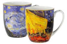 Набор из 2-х кружек Звездная ночь/Ночная терраса кафе (В. Ван Гог)