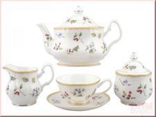 """Чайный сервиз на 6 персон """"Глэдис"""", 15 пр., 200 мл., Bristol, Китай"""