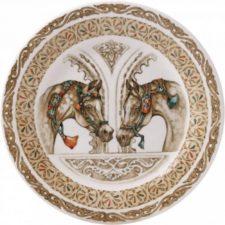 Тарелка для канапе Gien, Лошади ветра, 16,5 см.