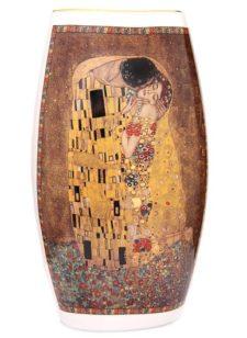 "Ваза для цветов ""Поцелуй"" Г.Климт, 25 см"