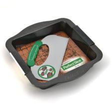 Противень квадратный с инструментом для нарезания 30*27*5см Perfect Slice BergHOFF