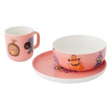 3пр фарфоровый набор (розовый) BergHOFF