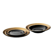 3пр набор тарелок чёрный BergHOFF