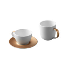 3пр набор для кофе и чая белый BergHOFF