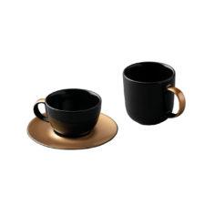 3пр набор для кофе и чая чёрный BergHOFF