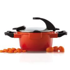Кастрюля с крышкой 16см 1,5л Virgo Orange BergHOFF