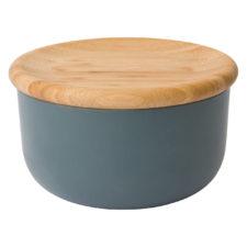 Емкость для хранения сыпучих продуктов с бамбуковой крышкой 15*8см Leo BergHOFF