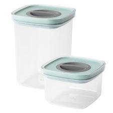 2пр набор контейнеров для пищевых продуктов с герметизирующей крышкой BergHOFF