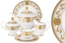 Чайный сервиз Эрмитаж 42 предмета на 12 персон