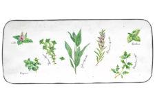 Блюдо прямоугольное Herbarium в подарочной упаковке