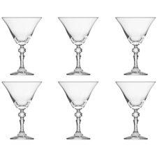 """Набор бокалов для мартини Krosno """"Криста"""" 170мл, 6 шт"""
