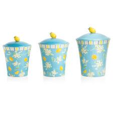 """Набор банок для печенья Certified Int. """"Лимоны"""" (1,4л, 1,7л, 3,1л), 3шт"""