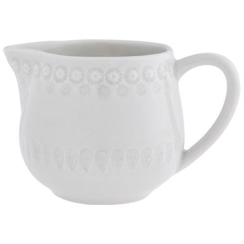 """Молочник Bordallo Pinheiro """"Фантазия"""" 450мл (бежево-серый))"""