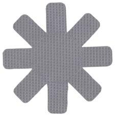 Набор из 2 ковриков защитных для антипригарного покрытия, серый