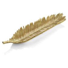 """Чаша-лист для хлеба Michael Aram  """"Лист пальмы саго"""" 50см"""