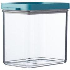 Контейнер для хранения прямоугольный Mepal 1,1л (мятная крышка)