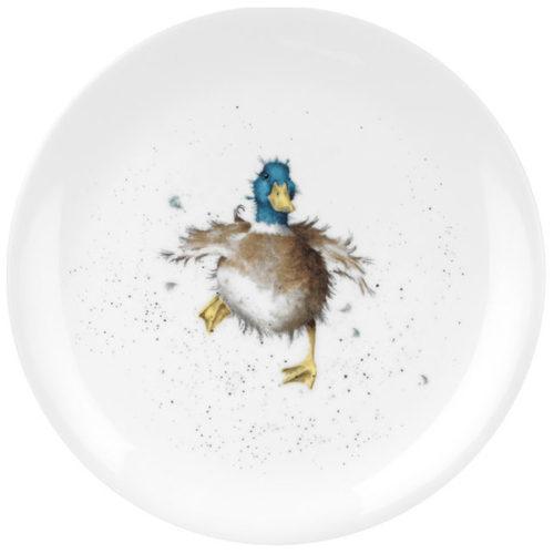 """Тарелка закусочная Royal Worcester """"Забавная фауна.Утка"""" 20см"""