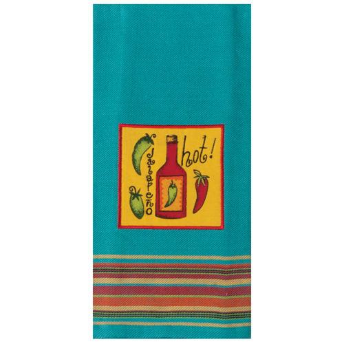 """Полотенце прямоугольное Kay Dee Designs """"Острый перец"""" 46X71см"""