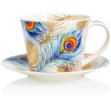 """Чашка чайная с блюдцем Dunoon """"Шакила.Айлей"""" 350мл"""