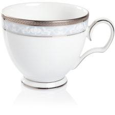 """Чашка чайная Noritake """"Хэмпшир,платиновый кант"""" 250мл"""