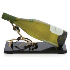 """Подставка для вина Michael Aram """"Золотая оливковая ветвь"""" 28см"""