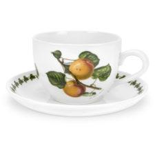 "Чашка для завтрака с блюдцем Portmeirion ""Помона.Абрикос"" 500мл"