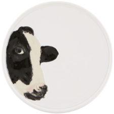 """Тарелка Bordallo Pinheiro """"Коровы"""" 20см (рисунок в профиль, слева)"""