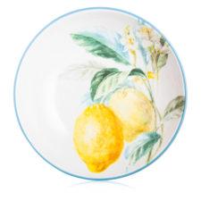 "Блюдо круглое Certified Int. ""Лимоны"" 33х7,5см,керамика"