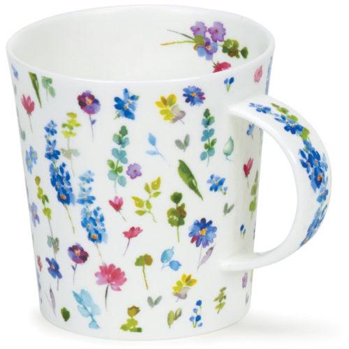 """Кружка Dunoon """"Красивые цветы.Ломонд"""" 320мл (голубая)"""