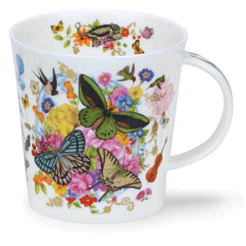 """Кружка Dunoon """"Экзотические бабочки.Кернгорм"""" 480мл"""