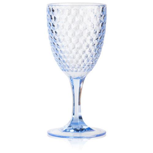 """Бокал для вина 300мл Diligence4us """"Бриллиант"""" (голубой)"""