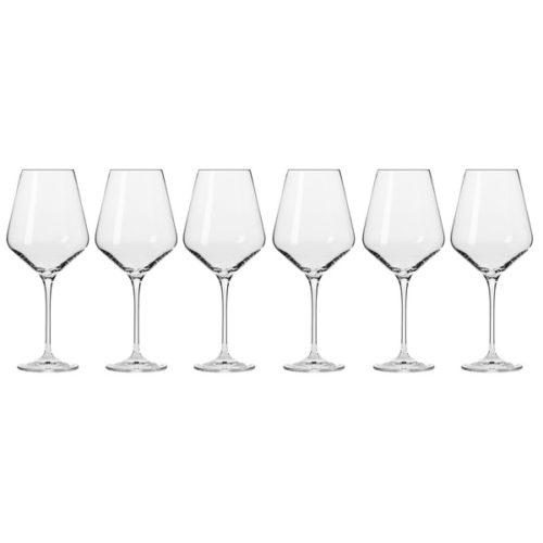 """Набор бокалов для красного вина Krosno """"Авангард"""" 490мл, 6 шт"""